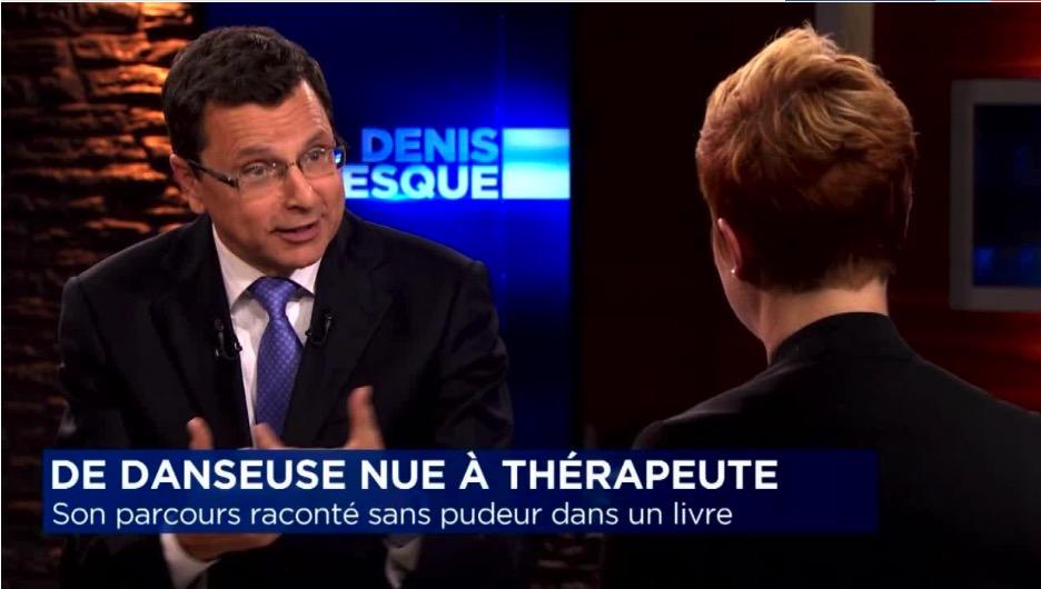 Entrevue à l'émission de Denis Lévesque